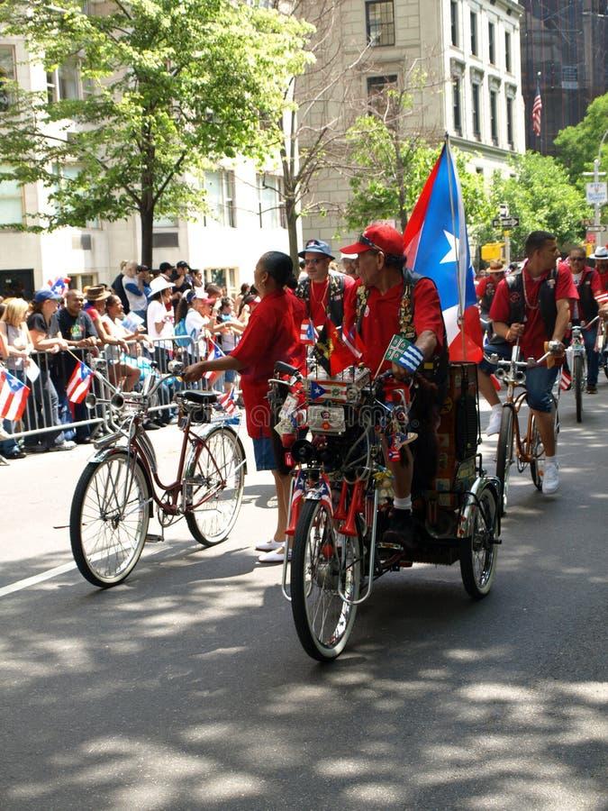 Puertorikanische Tagesparade stockbild