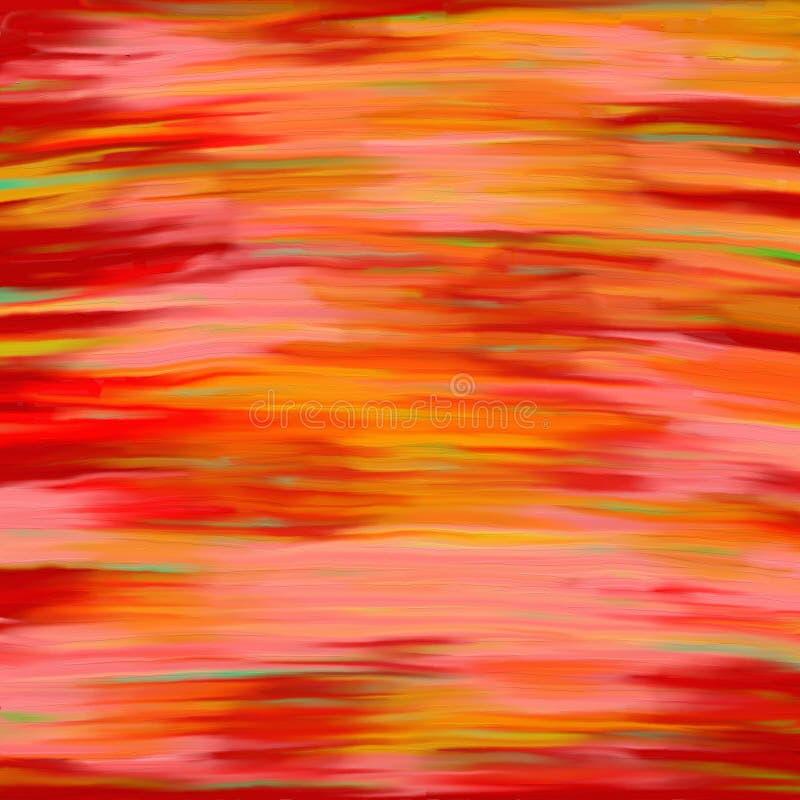 Puesta del sol abstracta stock de ilustración