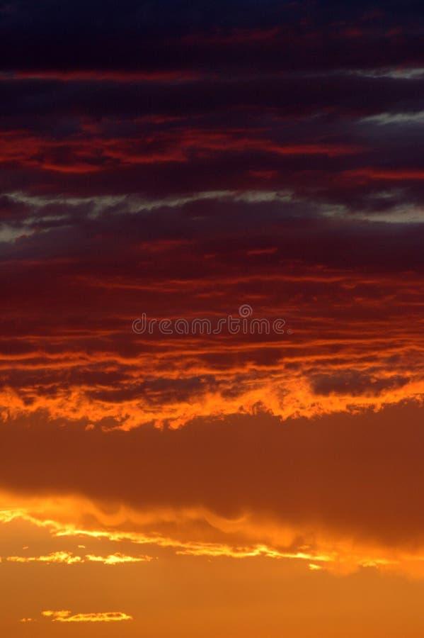 Puesta del sol de oro en desierto namibiano imagen de archivo libre de regalías