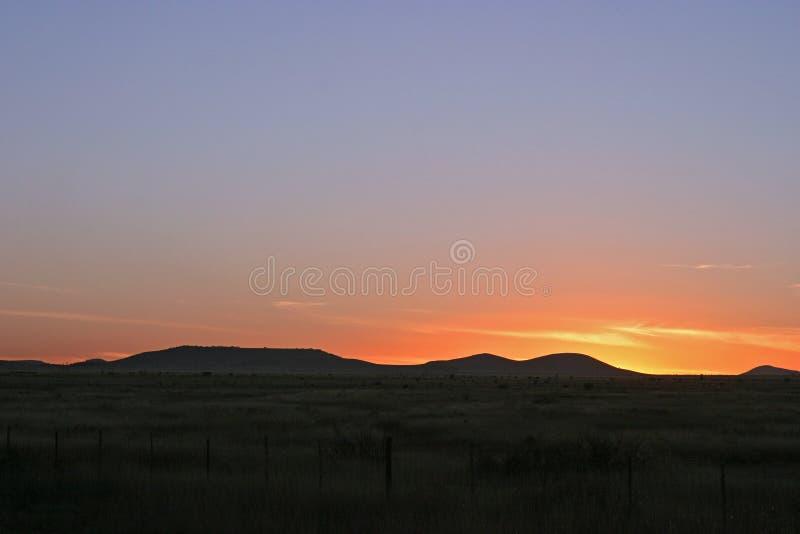 Download Puesta del sol de Tejas foto de archivo. Imagen de sunset - 186482