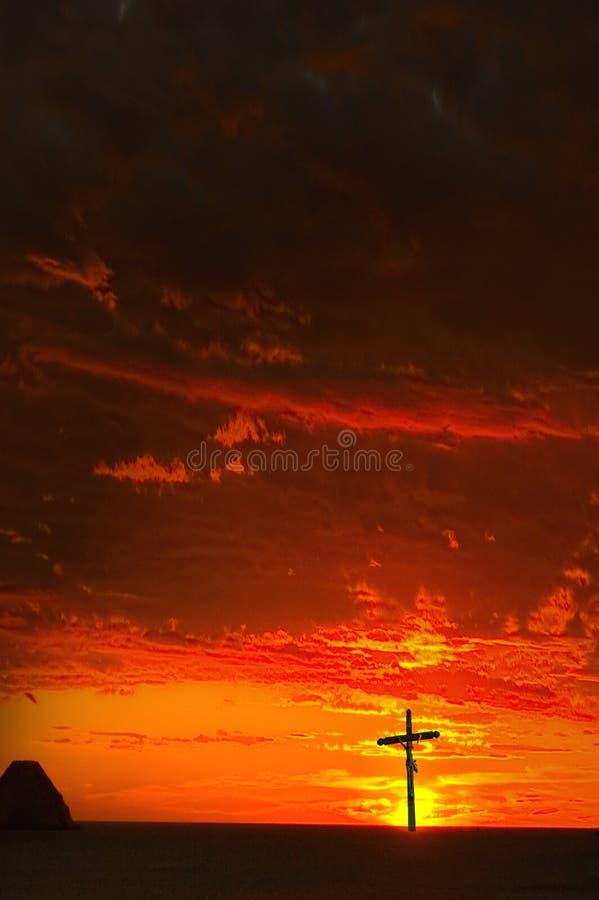 Puesta del sol del ídolo fotos de archivo