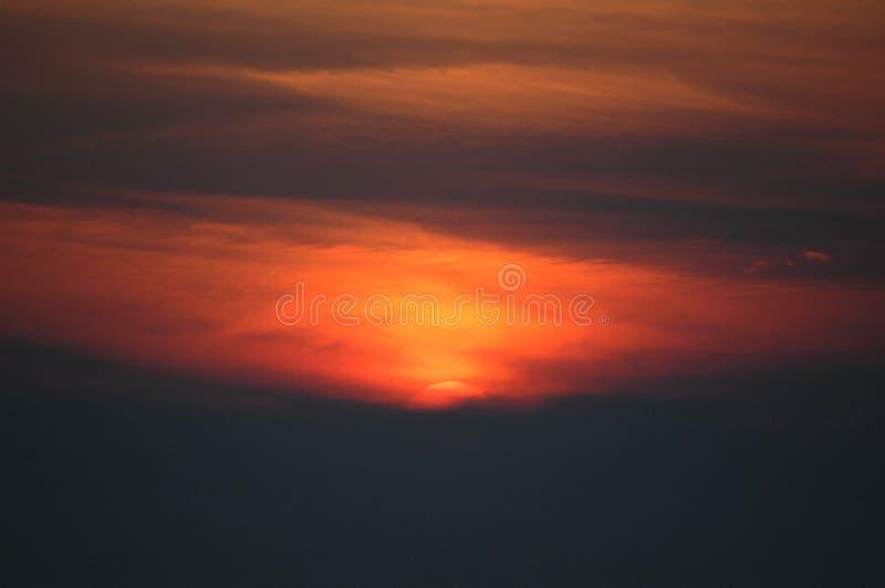 Puesta del sol del superior de lago imágenes de archivo libres de regalías