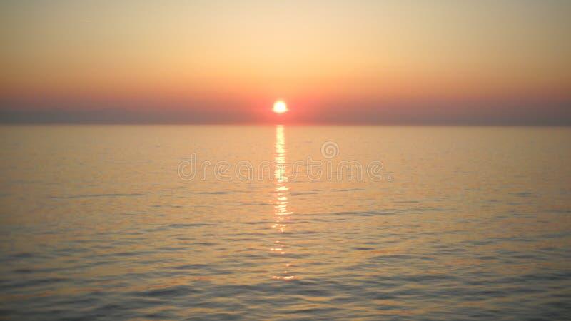Puesta del sol en alguna parte imagenes de archivo
