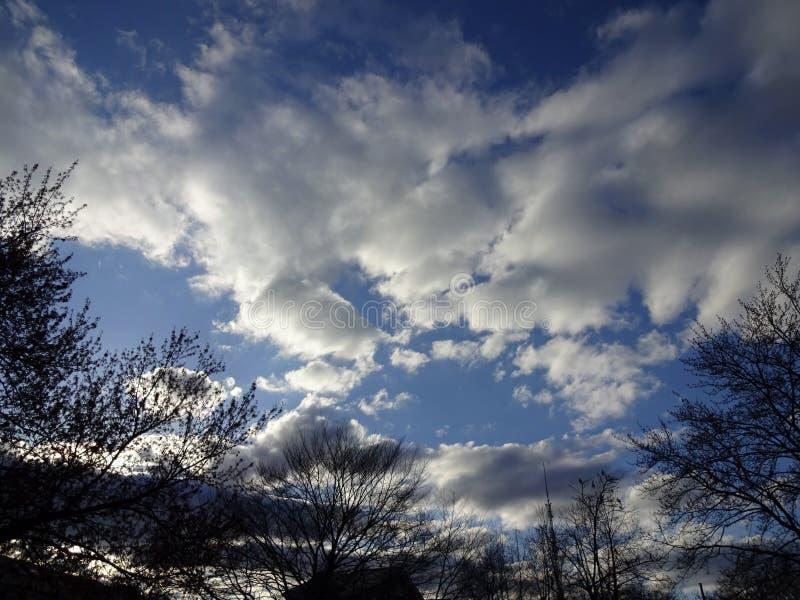 Puesta del sol en la vecindad en Washington DC imagen de archivo libre de regalías