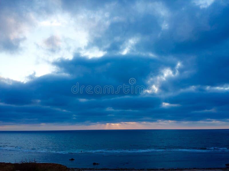 Puesta del sol en Rabat fotos de archivo libres de regalías