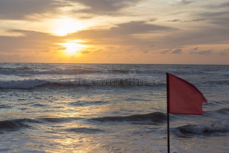 Puesta del sol en Sri Lanka imágenes de archivo libres de regalías