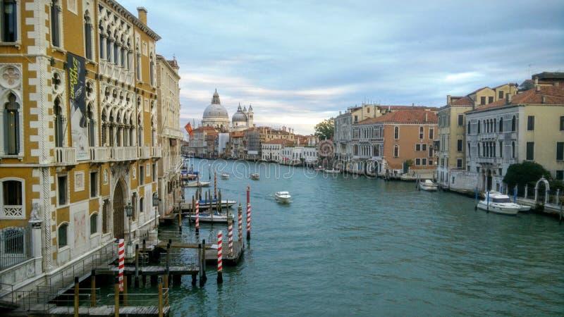 Puesta del sol en Venecia fotos de archivo libres de regalías