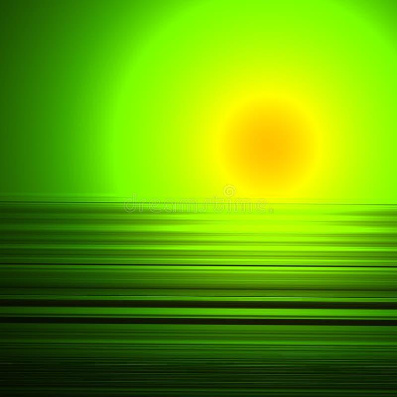 Download Puesta del sol extranjera stock de ilustración. Ilustración de fondo - 186984