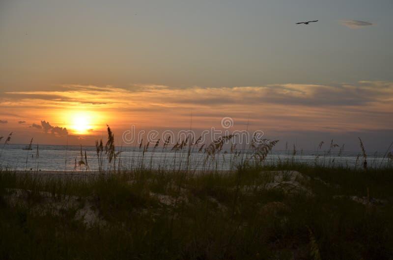 Puesta del sol, la Florida fotos de archivo
