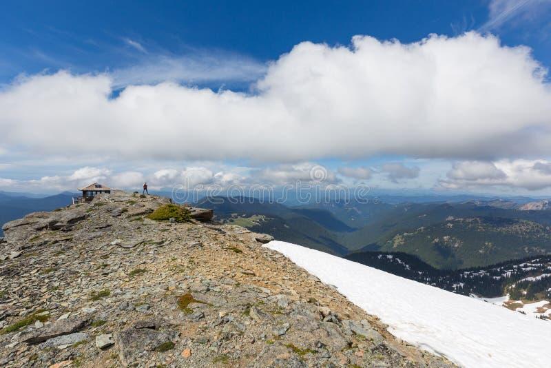 Puesto de observación de Freemont en el Mt Rainier National Park fotografía de archivo libre de regalías