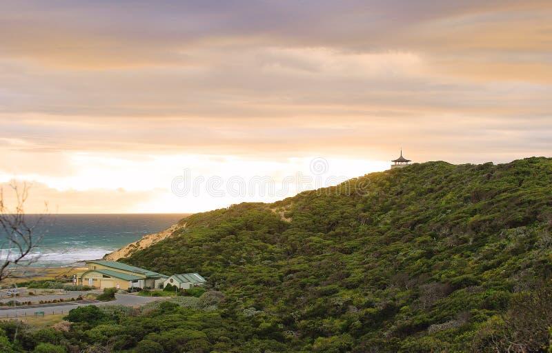 Puesto de observación Sorrento, Australia de Coppins imagen de archivo