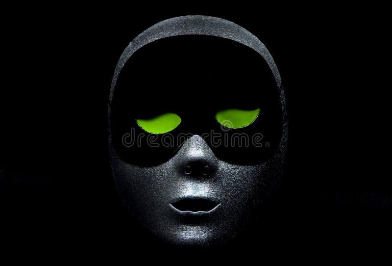 Puesto verde Eyed imágenes de archivo libres de regalías