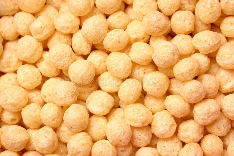 Puff Cereal stock photography