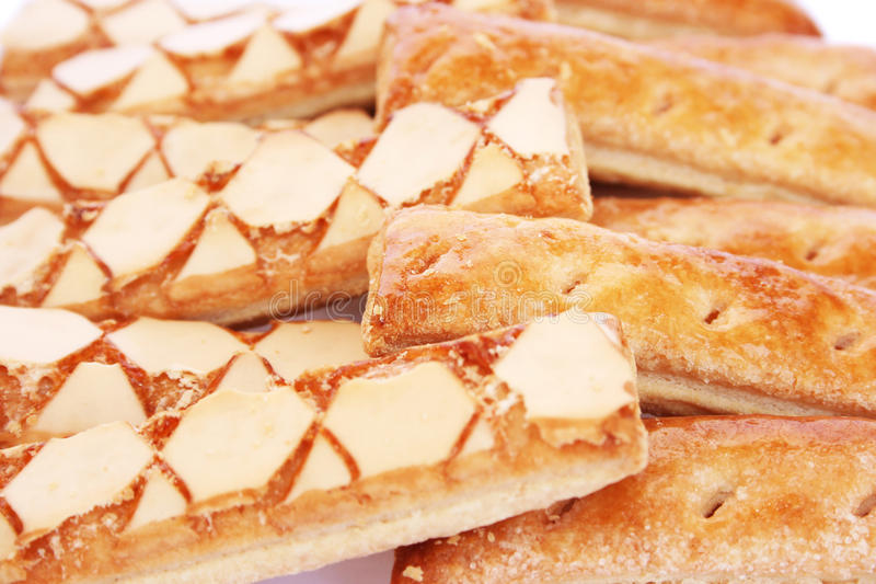 Puff pastry royalty free stock photo