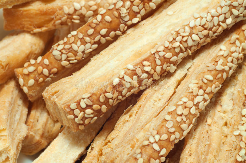 Download Puff Pastry With Sesame Seeds Stock Image - Image: 27917351