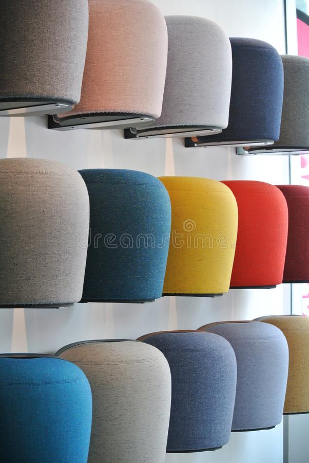 The puff seat royalty free stock image