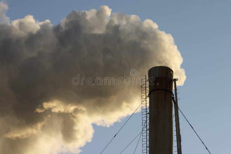 Puff of smoke royalty free stock photography