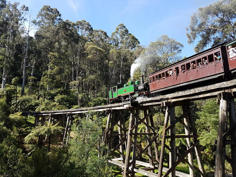 Puffing Billy royalty free stock images