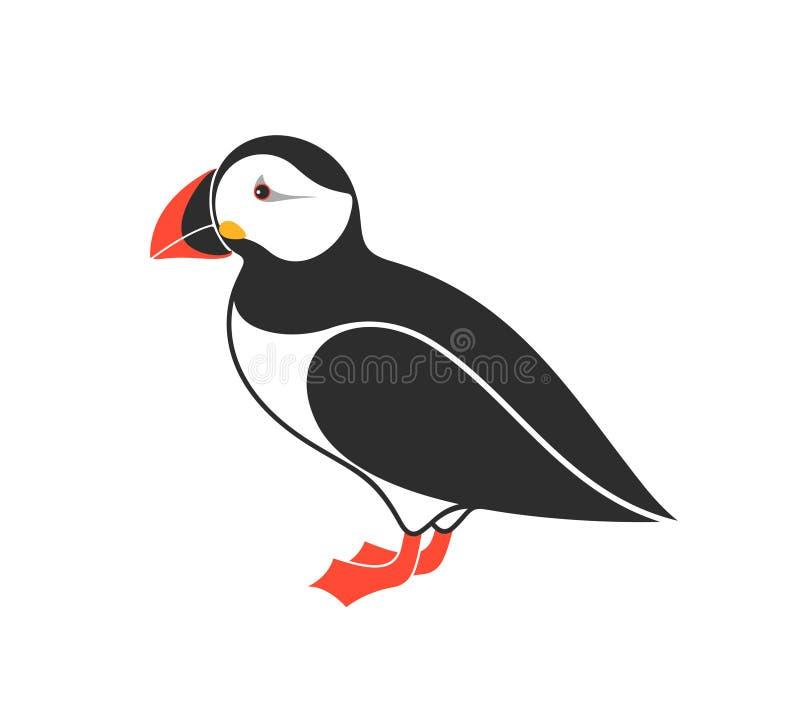 Puffino atlantico uccello royalty illustrazione gratis
