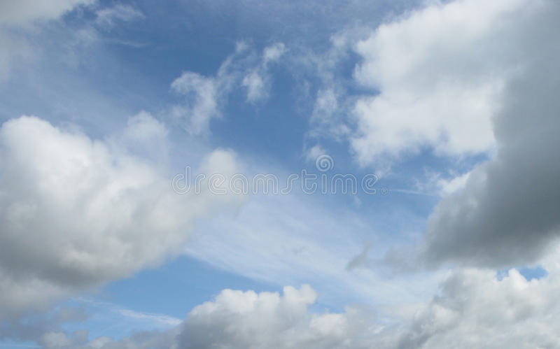 Download Puffy clouds stock image. Image of white, weather, nature - 11236577