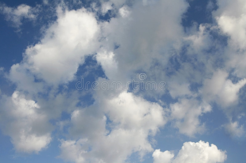 Download Puffy Clouds Royalty Free Stock Images - Image: 5735629