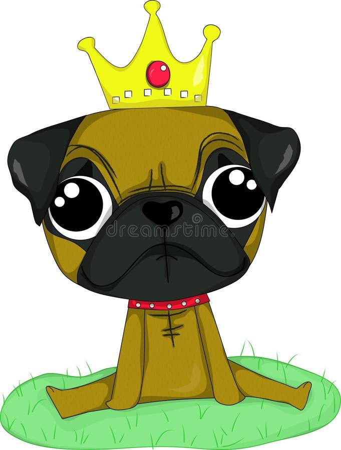 Download Pug stock vector. Image of black, yellow, decorative - 28135361