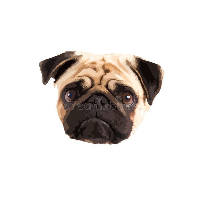 Free Pug Dog Clipart