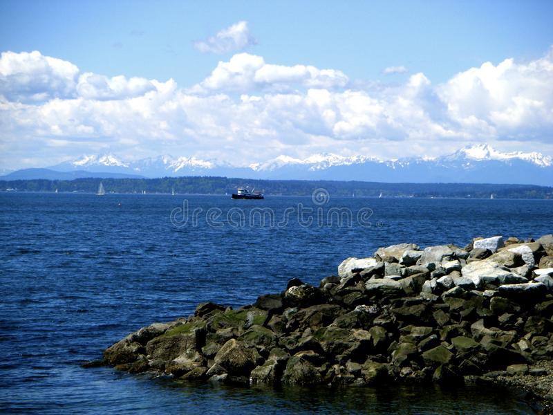 Puget Sound photographie stock
