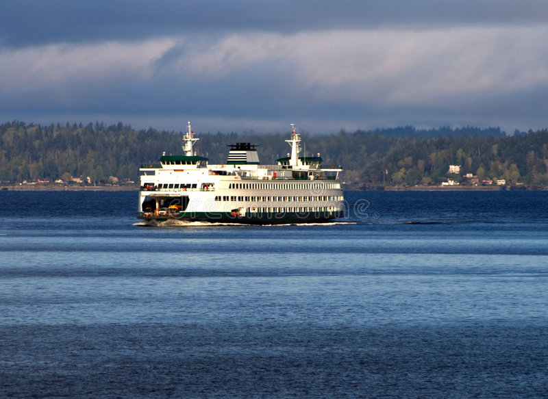 Download Puget Sound Ferry v1 stock image. Image of state, seattle - 5433299