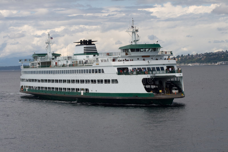 Download Puget Sound Ferry v2 stock photo. Image of women, cars - 6088286