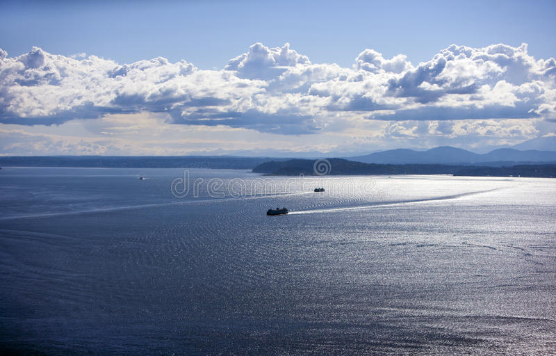 Download Puget Sound stock photo. Image of space, daytime, sunshine - 31842616
