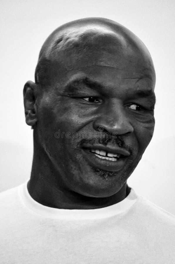 Pugile Mike Tyson fotografie stock