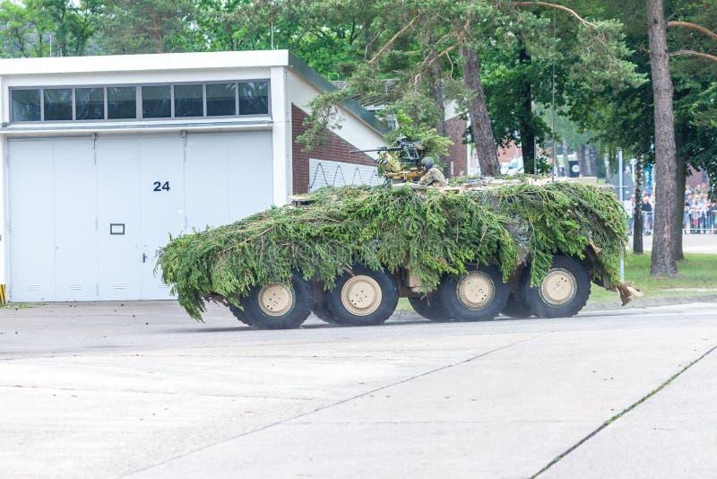Pugilista blindado alemão da viatura de combate GTK fotografia de stock royalty free