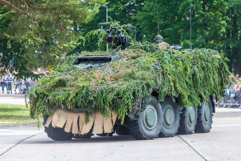 Pugilista blindado alemão da viatura de combate GTK imagens de stock