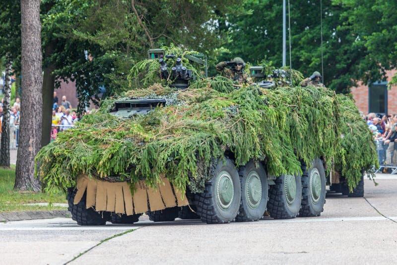 Pugilista blindado alemão da viatura de combate GTK foto de stock royalty free