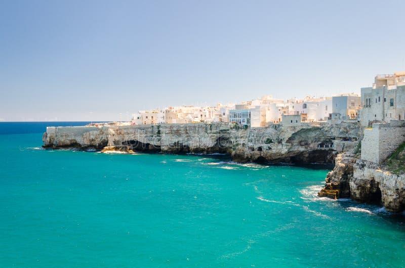 Puglia, Polignano een Merrie stock foto's