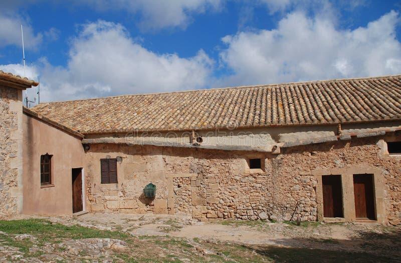 Puig De Maria monaster na Majorca zdjęcia royalty free
