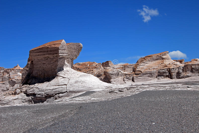 Puimstenen in Campo DE Piedra Pomez, Catamarca, Argentinië royalty-vrije stock afbeeldingen