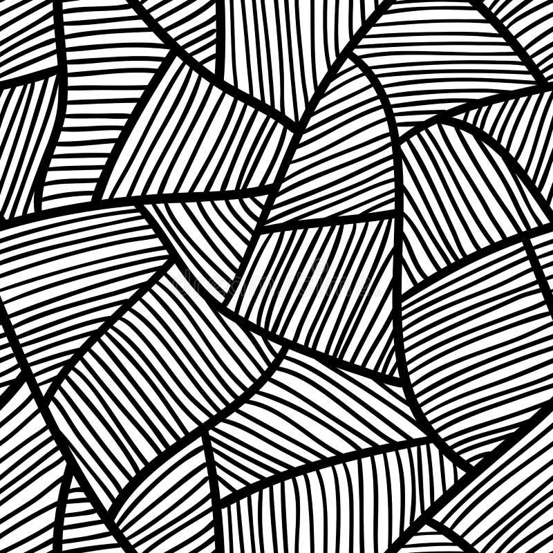 Puin (naadloos vectorbehang) vector illustratie