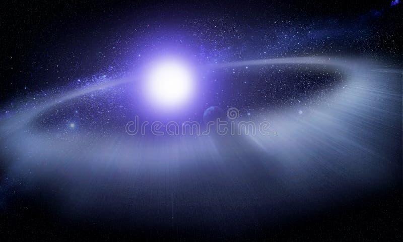 Puinschijf rond een ster #2 royalty-vrije stock foto