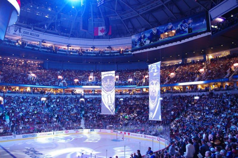 Puissance de serviette dans le NHL photographie stock libre de droits