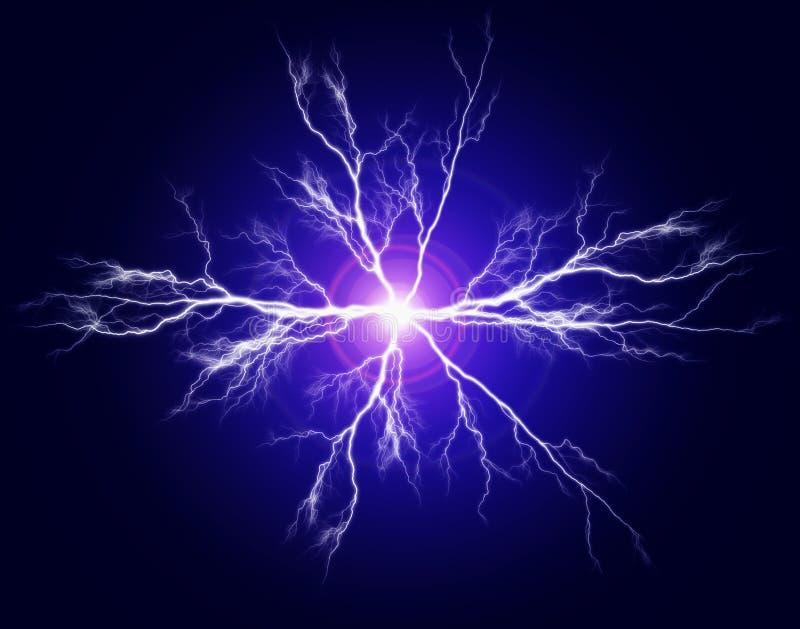 Puissance et électricité pures illustration libre de droits
