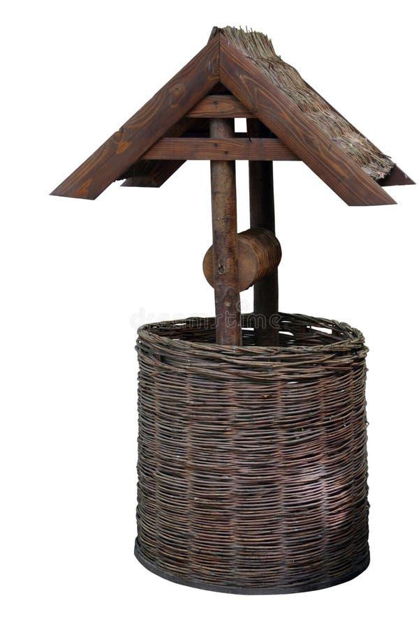 Puits décoratif image stock