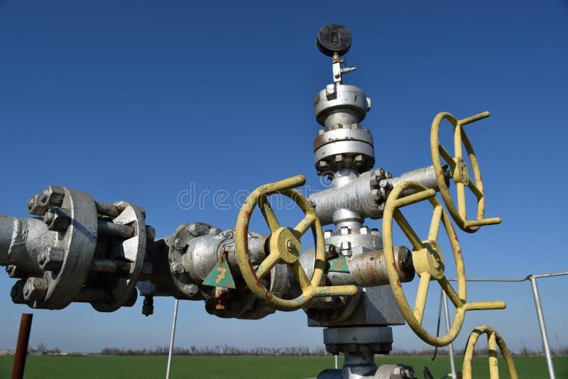 Puits de pétrole photo libre de droits