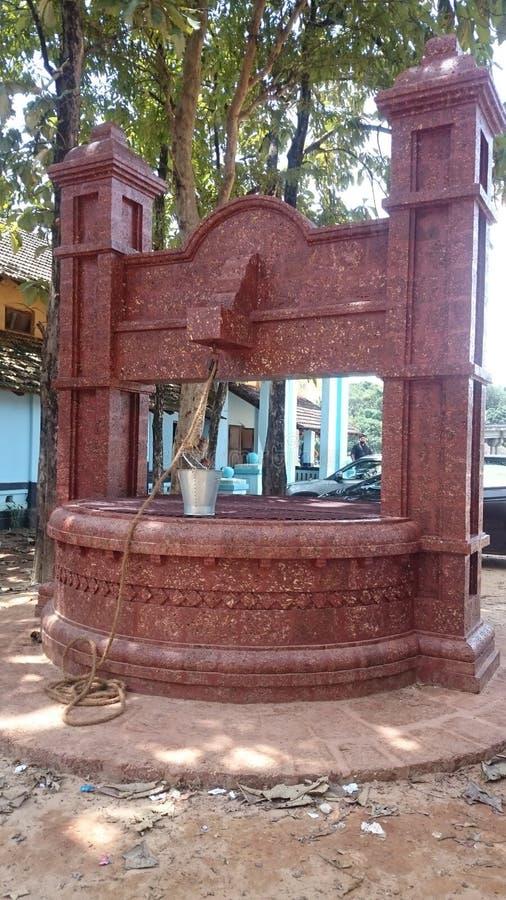 Puits de style du Kerala image libre de droits