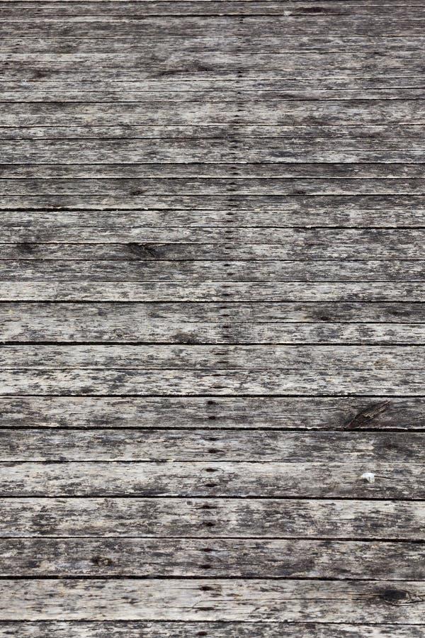 pukać deski rdzewiejącymi gwoździami obraz stock