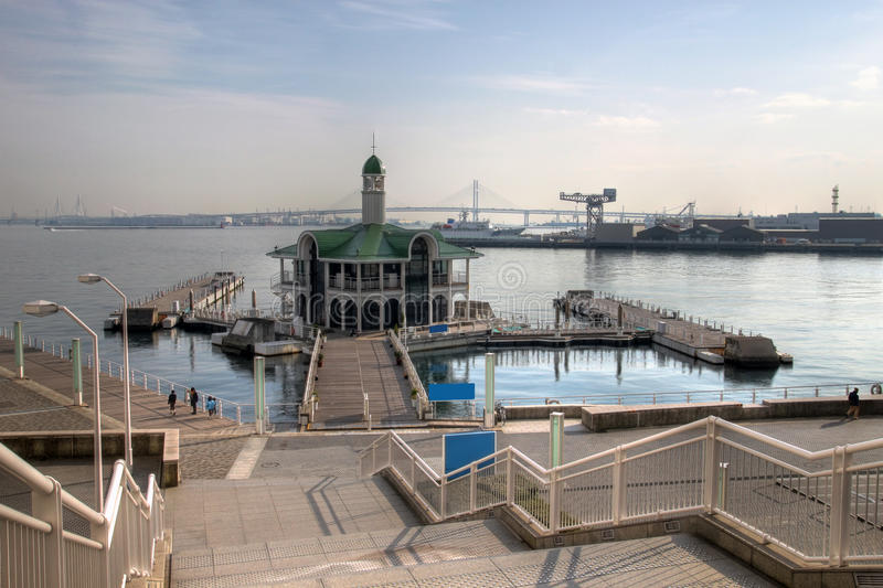 Download Pukari Pier, Yokohama, Japan Stock Photo - Image: 12780196