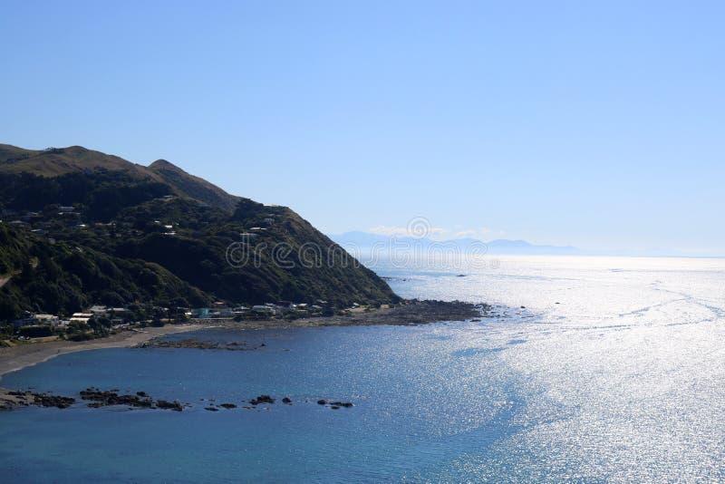 Pukerua Bay, Kapiti Coast, North Island New Zealand stock photos