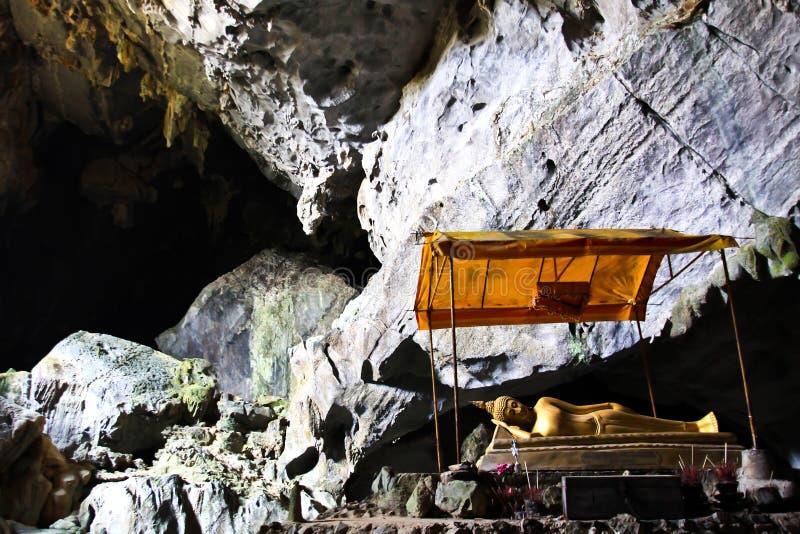 Pukham佛教洞  库存图片