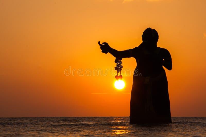 Puktien plaża obraz royalty free